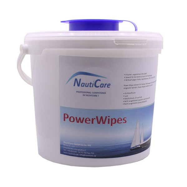 Handreinigungstücher Power Wipes