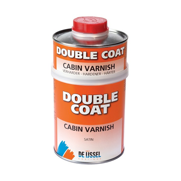 De IJssel Double Coat Cabin Varnish Set 750 ml