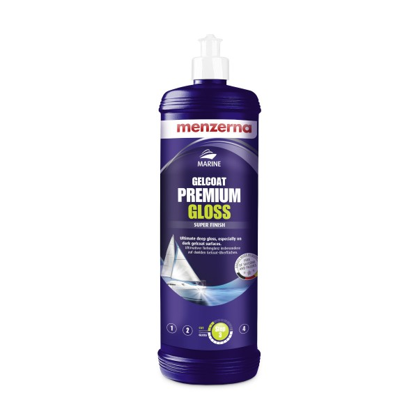 menzerna Gelcoat Premium Gloss Super Finish Bootspolitur 1 Liter