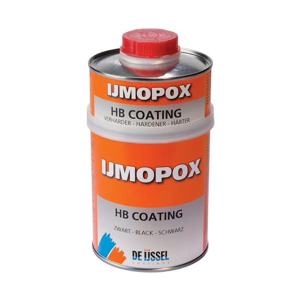 De IJssel IJmopox HB Coating Set schwarz 750 ml