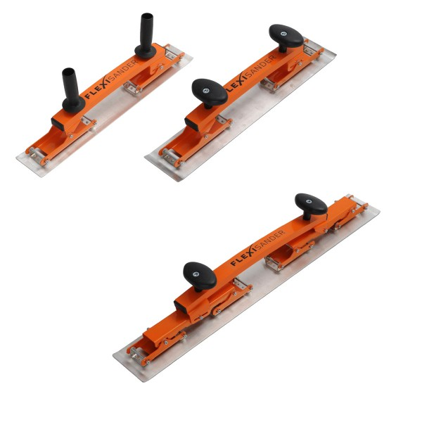 FLEXISANDER Start-Set (1 x flexibles Spachtelbrett & 2 x flexibles Schleifbrett)