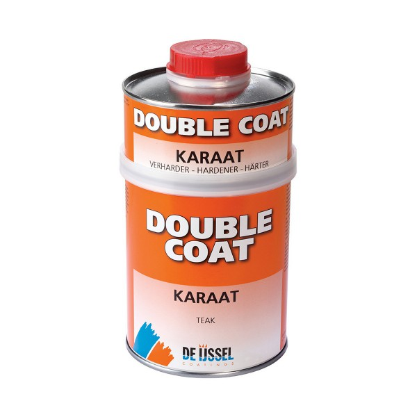 De IJssel Double Coat Karaat Set Teak